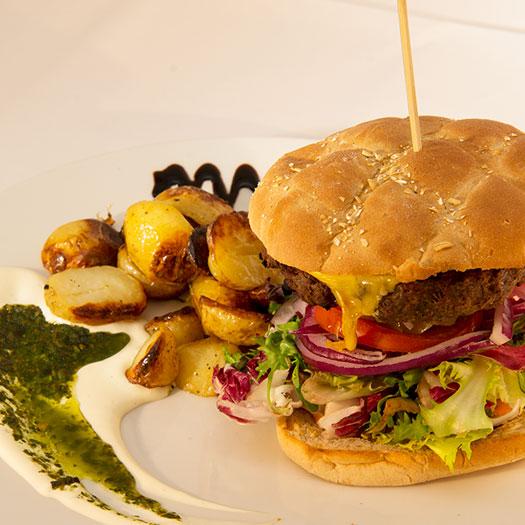 F & B's Cheeseburger