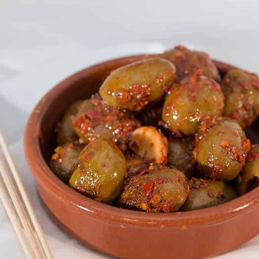 Chili oliven